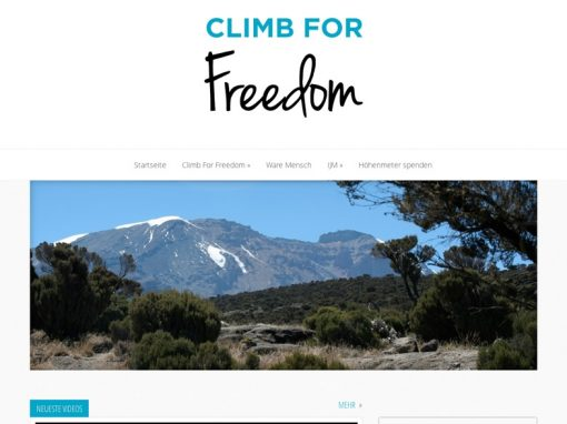 Climb for freedom