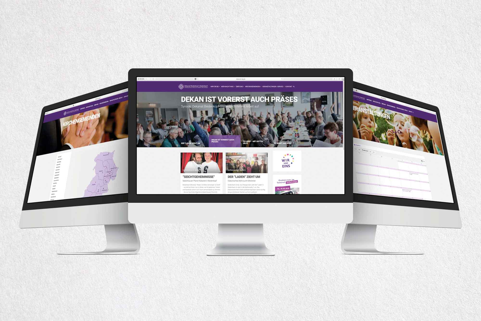 Homepage Dekanat